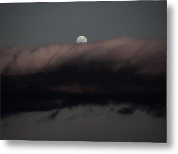 Winter's Moon Metal Print