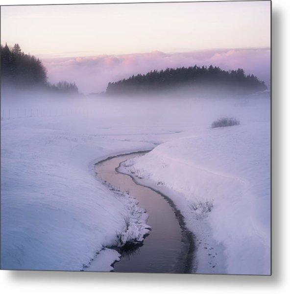 Winters Mystique Metal Print