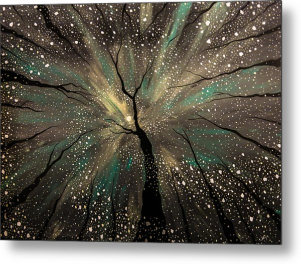 Winter's Trance Metal Print