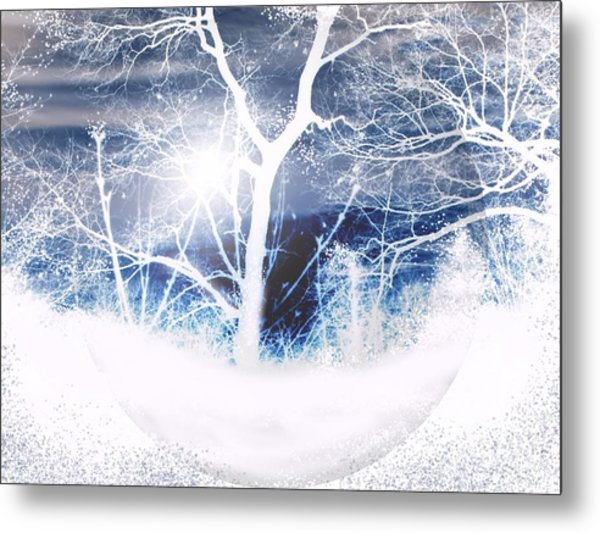 Winterscape Metal Print