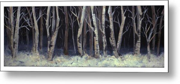 Winterwoods Metal Print