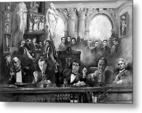 Wise Guys Metal Print