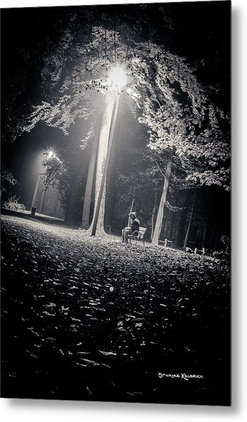 Metal Print featuring the photograph Wish You Were Alone by Stwayne Keubrick