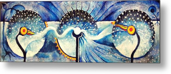 Wishing Through Wormholes Metal Print