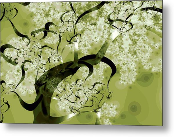Wishing Tree Metal Print