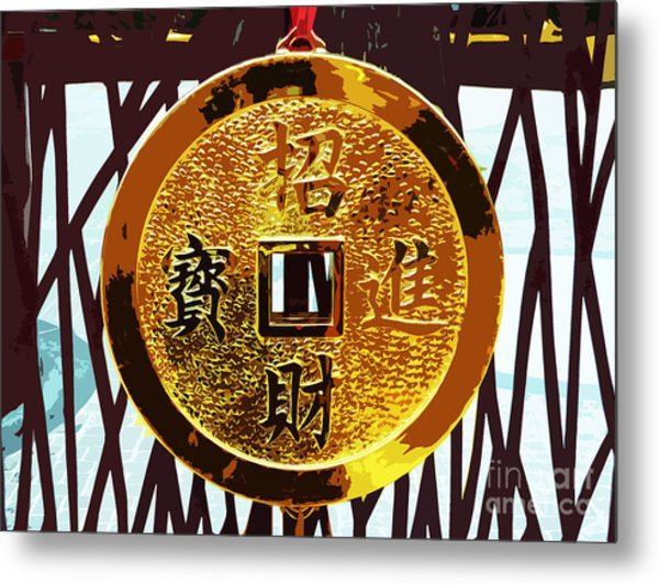 Wishing You Wealth Metal Print