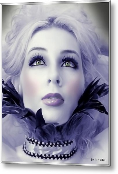 Wistful Metal Print