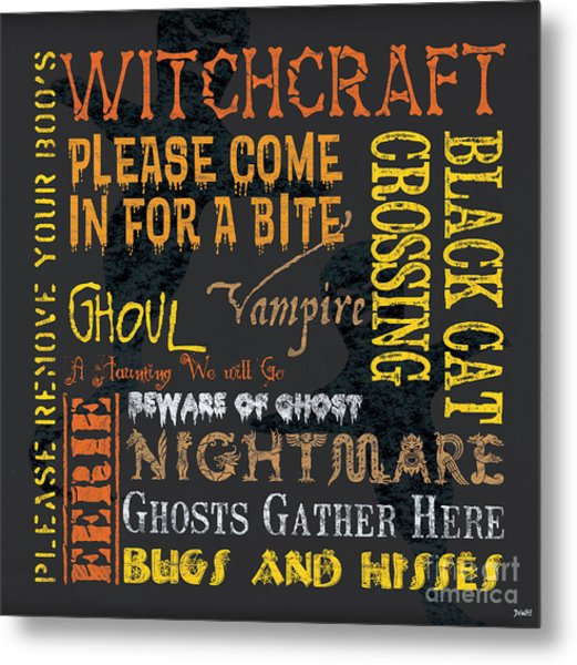Witchcraft Metal Print