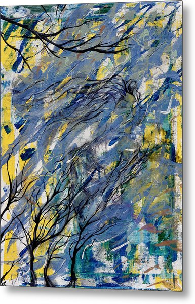 Witched Trees Metal Print by Fromatoz arts
