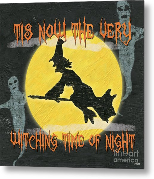 Witching Time Metal Print