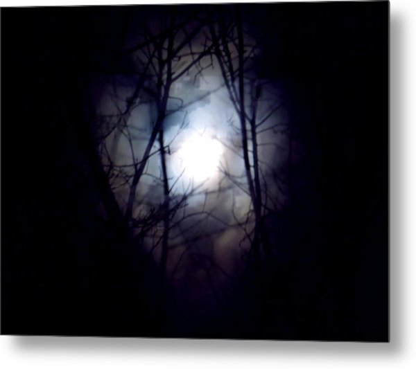 Witch's Moon Metal Print