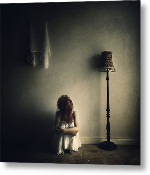 With No Answer... Metal Print