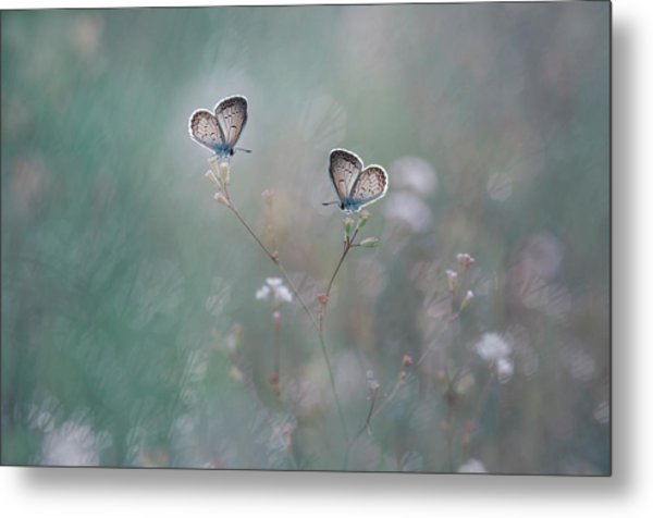 With You Metal Print