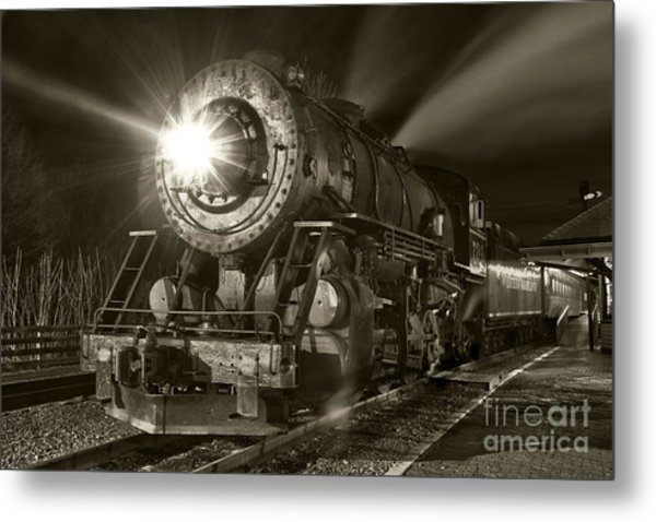 Wmsr Engine 734 At The Frostburg Depot Metal Print