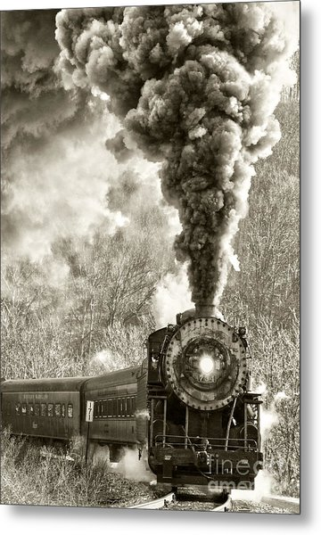 Wmsr Steam Engine 734 Metal Print