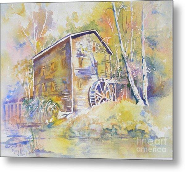 Wolf Creek Grist Mill Metal Print