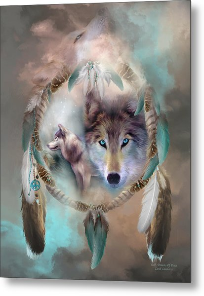 Wolf - Dreams Of Peace Metal Print