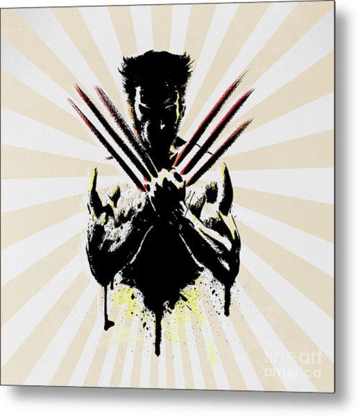 Wolverine Metal Print