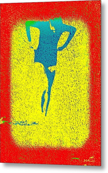 Woman Emerging -- Version I Metal Print by Brian D Meredith
