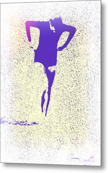 Woman Emerging -- Version K Metal Print by Brian D Meredith