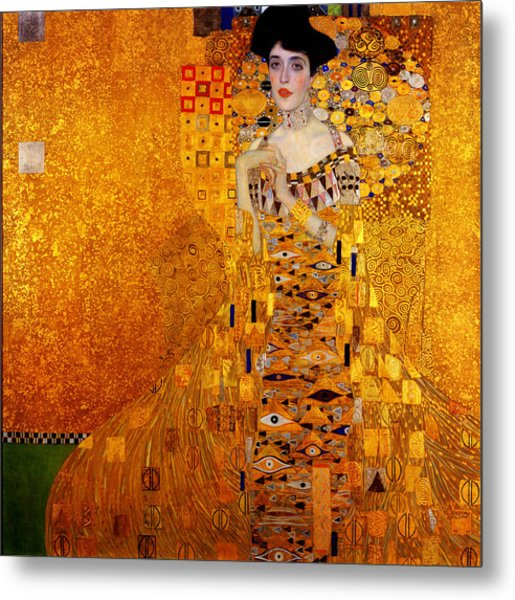 Metal Print featuring the painting Woman by Gustav Klimt