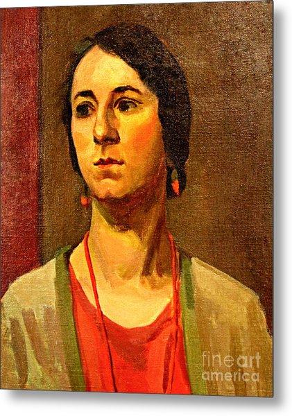 Woman Of 1929 Metal Print