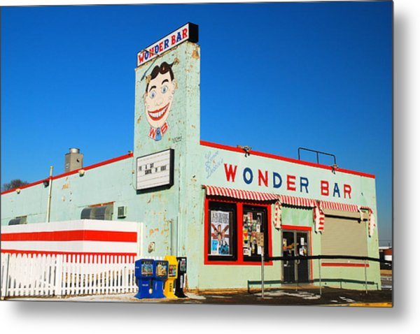 Wonder Bar Asbury Park Metal Print