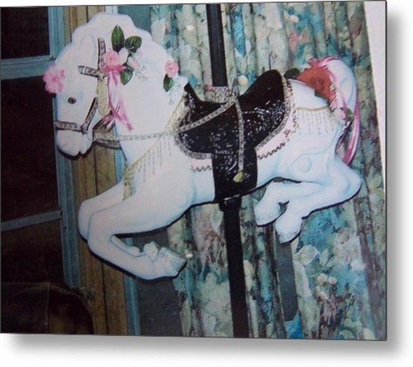 Wonder Horse Metal Print by Rosalie Klidies