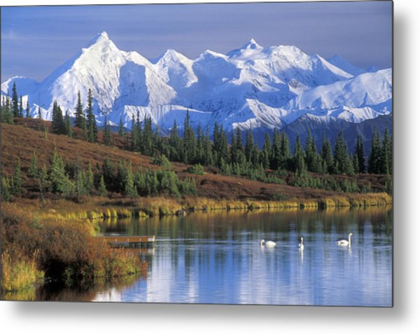 Wonder Lake 2 Metal Print