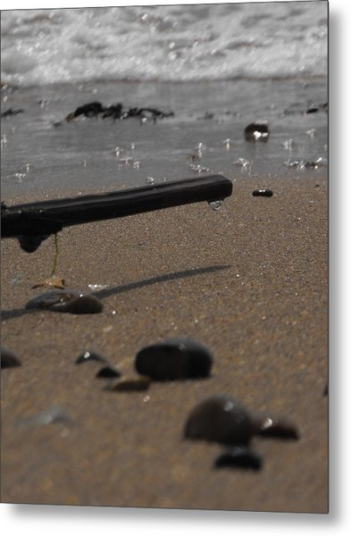 Wonder On This Beach Metal Print