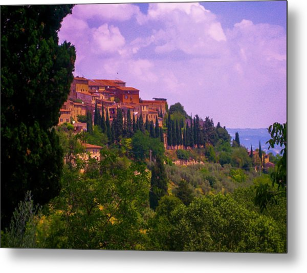 Wonderful Tuscany Metal Print