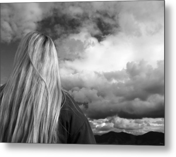 Wondering About Tomorrow Metal Print by Glenn McCarthy Art and Photography