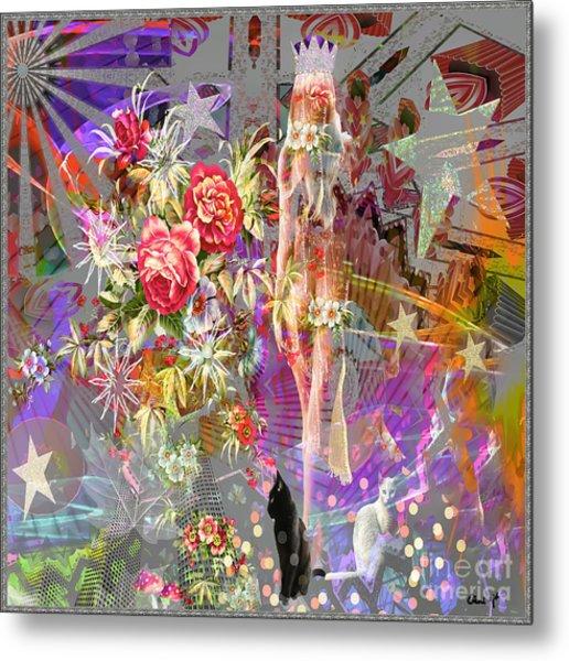 Wonderland Metal Print by Eleni Mac Synodinos
