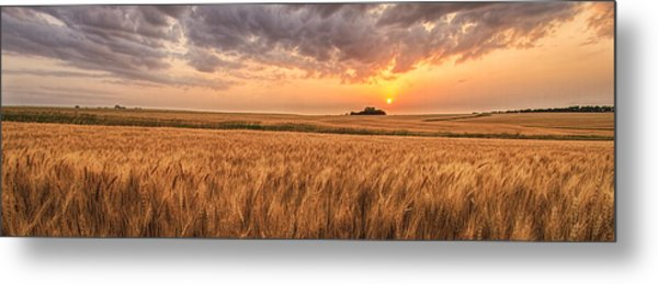 Won't Be Long Pano Metal Print