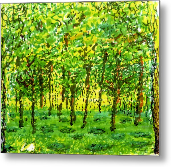 Wood Between The Worlds Metal Print