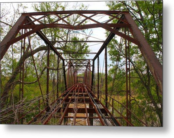 Woodburn Bridge Indianola Ms Metal Print