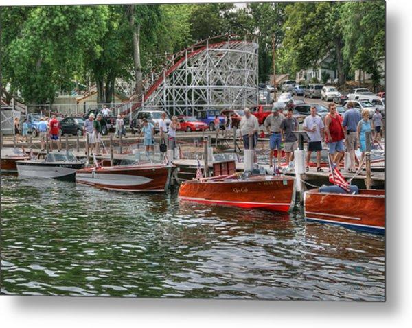 Wooden Boat Show Metal Print