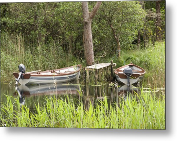 Wooden Boats Metal Print