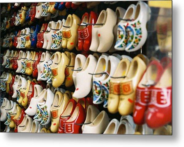 Wooden Shoes In Amsterdam By Joanne Morris