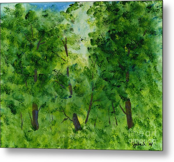 Woodland Haven Metal Print