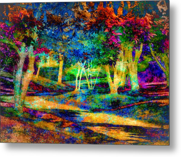 Woodland Gem Metal Print