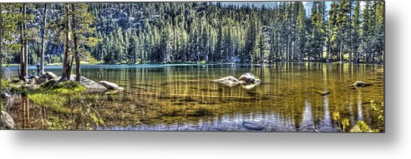 Woods Lake 3 Metal Print