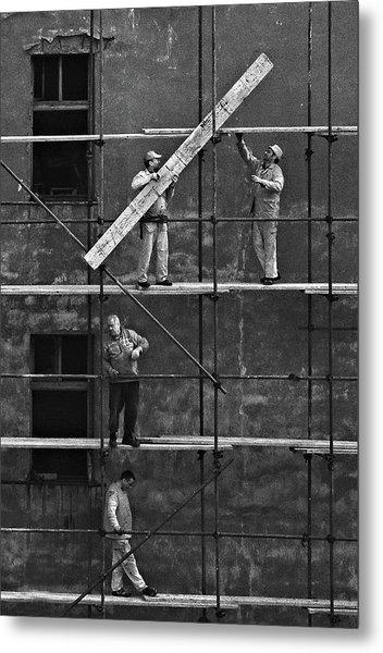 Workers 2 Metal Print