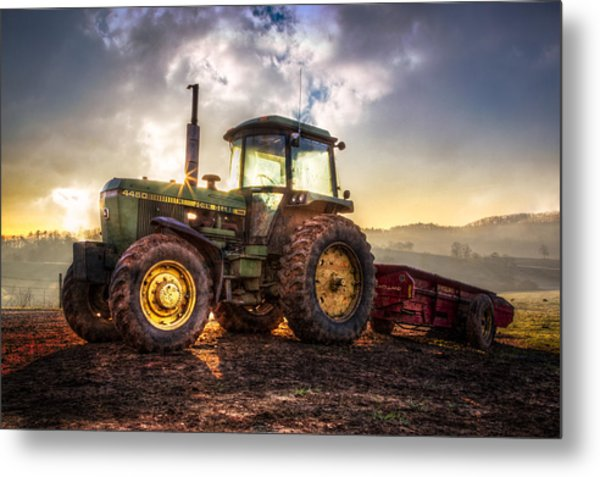 Workhorse II Metal Print