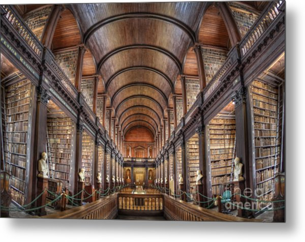 World Of Books Metal Print