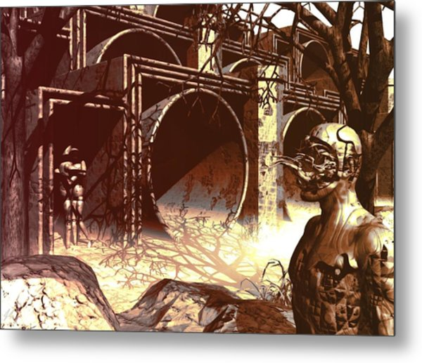 World Of Ruin Metal Print