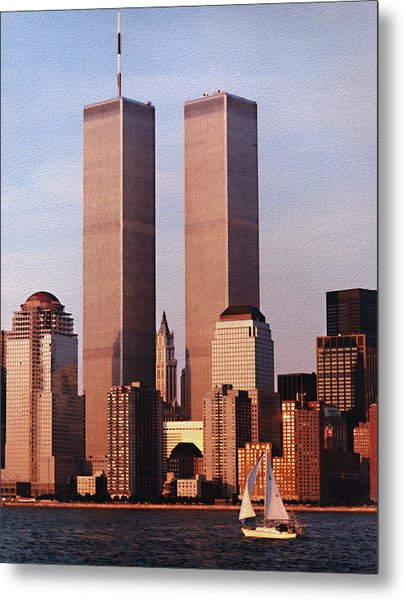 World Trade Center 1999 Metal Print