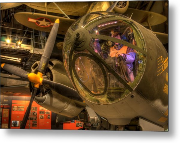 World War 2 Bomber Metal Print