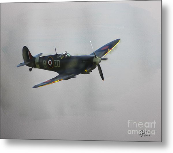 World War 2 Spitfire Metal Print