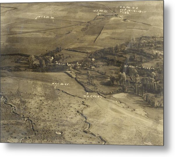 World War I Trenches Metal Print by Ny State Military Museum